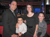 Victor Landa, Jr. and family.  Satisfied clients of Heritage Plus Financial, Inc.